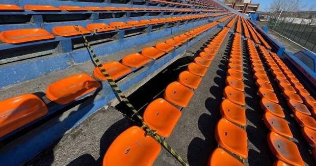 """СМИ сообщили о предварительной причине обрушения трибуны стадиона """"Металлург"""" в Братске"""