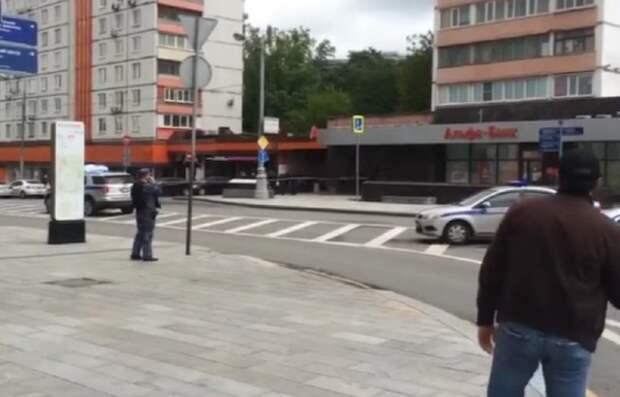 Установлена личность захватчика банка в центре Москвы
