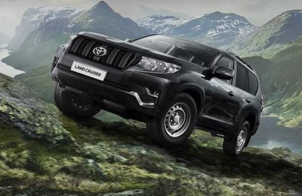 Toyota представила бюджетную версию внедорожника Land Cruiser Prado