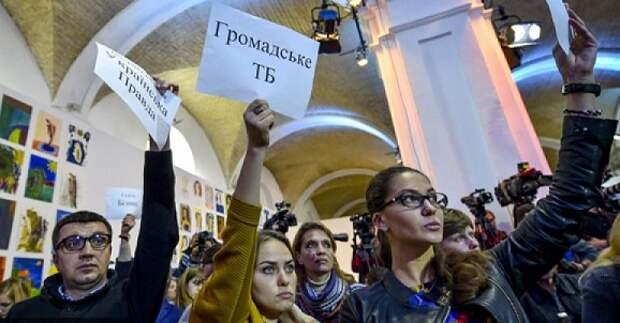 ВКопенгагене украинские журналисты оскорбили корреспондента РИА Новости