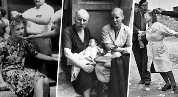 От связей с немцами во Франции родилось много детей.