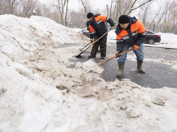 На Бибиревской усилят работу по уборке снега