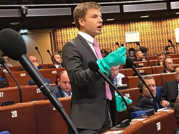 Украинского депутата Гончаренко в ПАСЕ лишили слова на три месяца