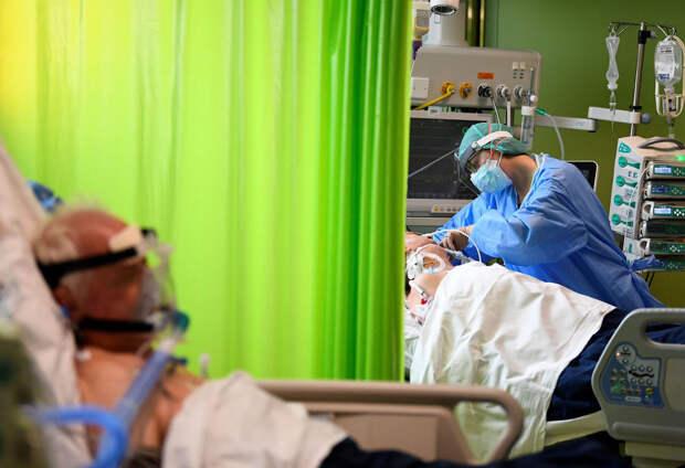 Ковидные госпитали в мире