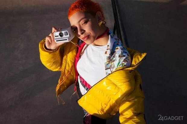 Представлена компактная камера мгновенного действия для новичков Polaroid Go