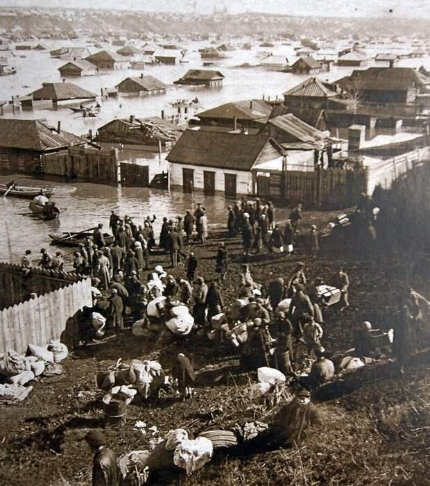 1928 Наводнение на Луговых история, ретро, фото