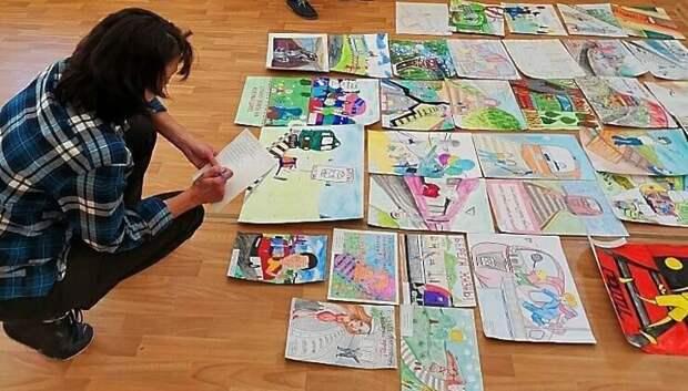 В Подольске определили победителей конкурса рисунка «Нарисуем нарушителя»