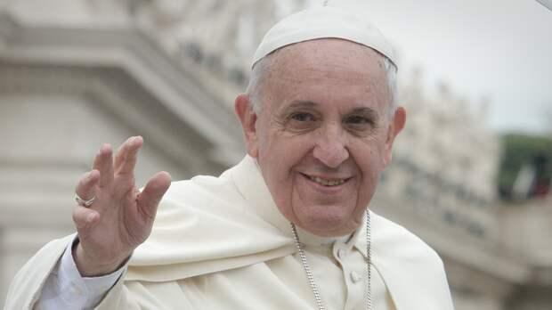 """""""Посылает сигнал надежды"""": Папа Римский Франциск рассказал о роли Олимпиады в пандемию"""