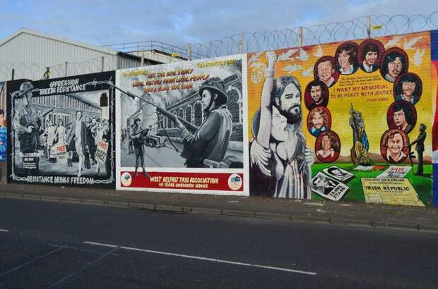 4 факта о том, почему в Ирландии до сих стоят заборы между протестантами и католиками