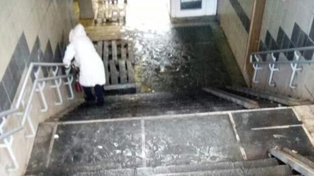 Подземные переходы вОренбурге нуждаются всерьезном ремонте