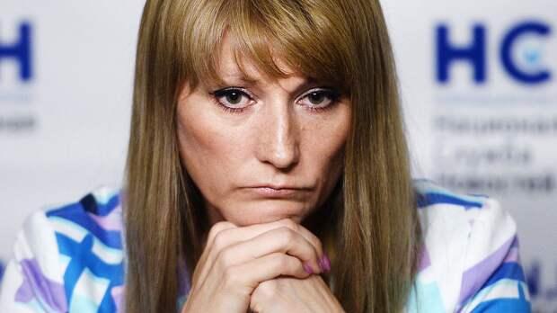 Журова — о запрете флага РФ на ЧМ по биатлону: «На первом плане — политика, на втором — невозможность договориться»