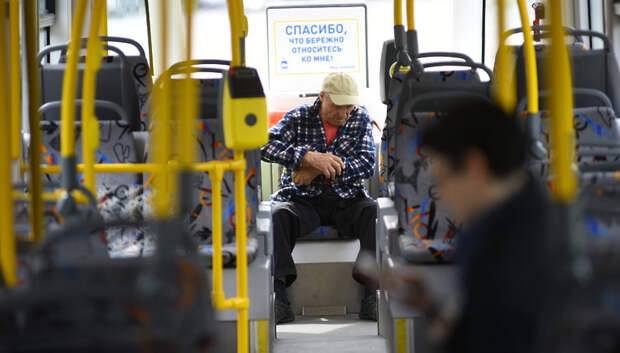 Количество пассажиров в общественном транспорте области сократилось почти в 2 раза