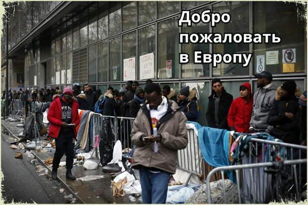 Запад помог. Некоторые участники митингов смогли просочится Европу с просьбой предоставить убежище и удивились приему