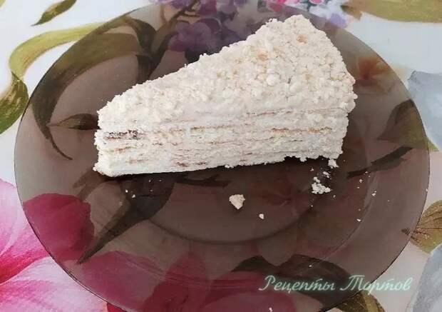 СМEТAННЫЙ торт на CКOВOPOДE