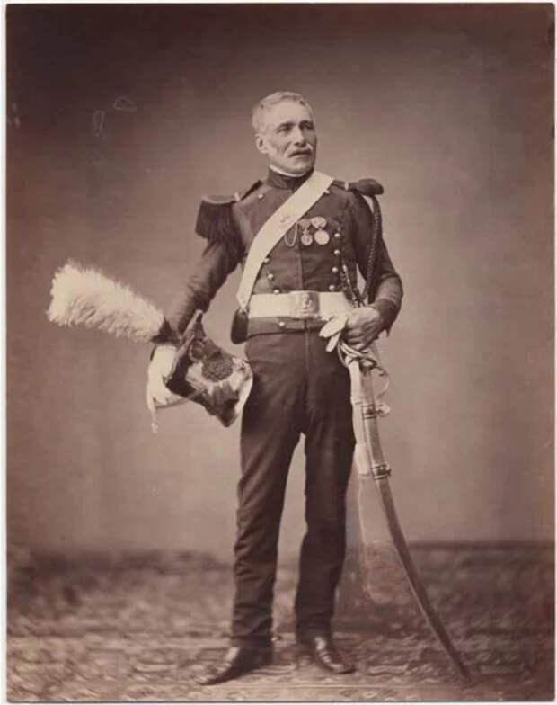 Месье Дрейс, копьеносец второго полка легкой кавалерии, ок. 1813-14. Фото: Brown University Library.