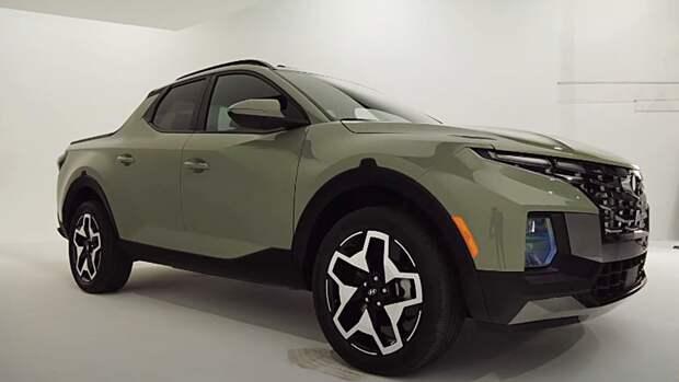 Корейская Hyundai представила новый пикап Santa Cruz