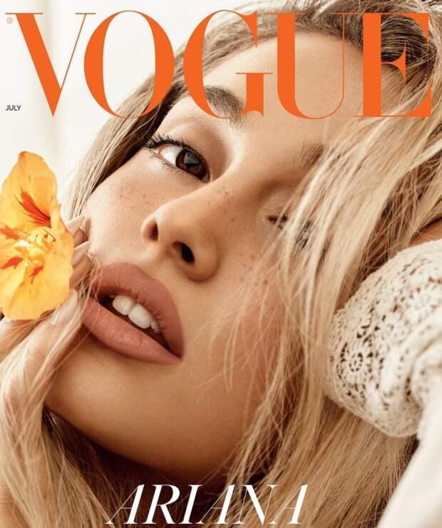 Ариана Гранде (Ariana Grande) в фотосессии для журнала Vogue (Июль 2018)