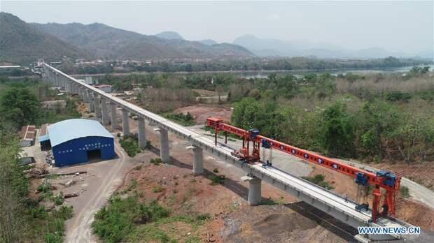 Новая магистраль Китай - Лаос