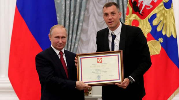 Сборная России - 24 слова для Владимира Путина