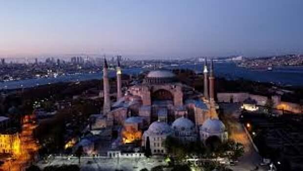 """Госдепартамент США и ЕС """"разочарованы"""" и критикуют решение Эрдогана изменить статус собора Святой Софии"""