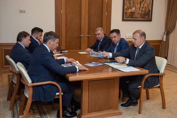В Москве прошла рабочая встреча главы Адыгеи и министра науки и высшего образования РФ