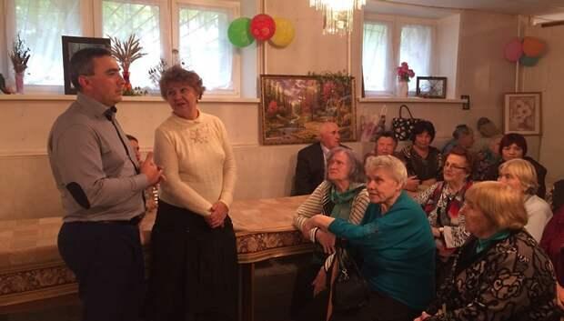 Пенсионерам показали народные танцы на празднике в Подольске
