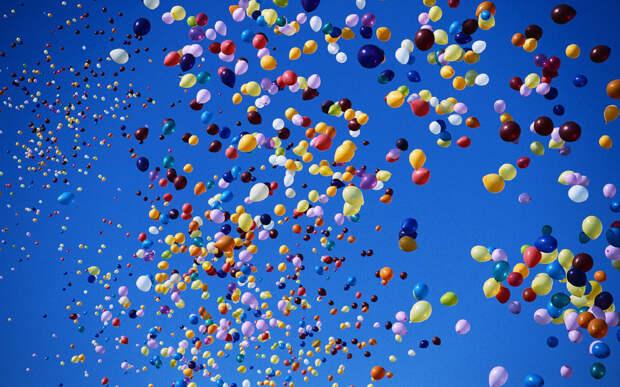 Немного интересного о воздушных шариках