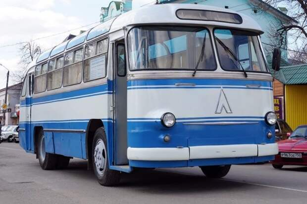 ЛАЗ-695Б: Первый в космосе, или автобус для Гагарина ЛАЗ, авто, автобус, автомир, гагарин, космодром, лаз-695б, юрий гагарин