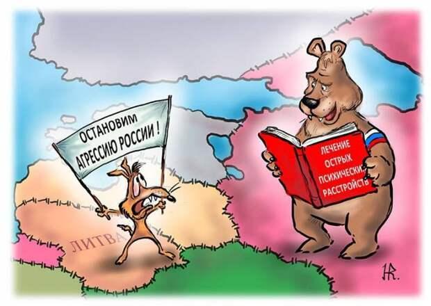 The Saker:  НАТО и ЕС направляют «послание» России. Снова