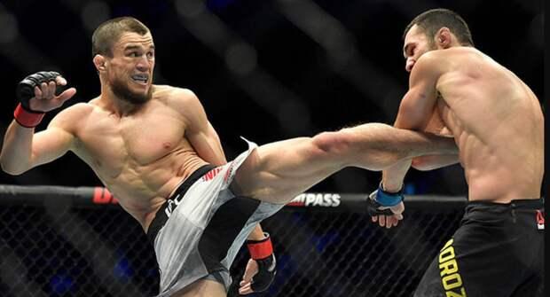 Двоюродный брат Хабиба Нурмагомедова выиграл дебютный бой в UFC