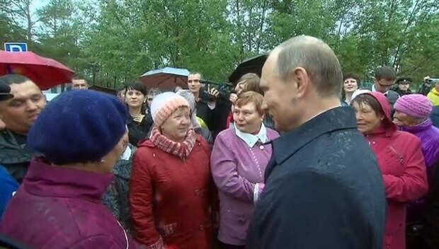 Число поклонников Путина снижается с каждым днем...