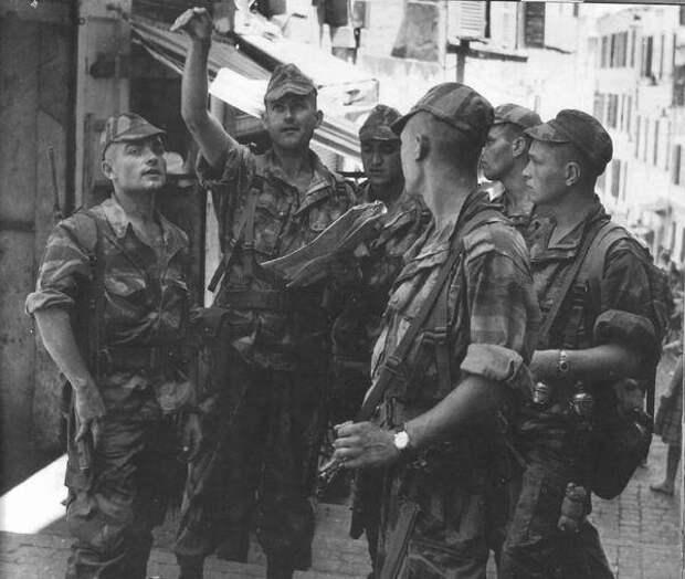 Командиры Иностранного легиона на алжирской войне