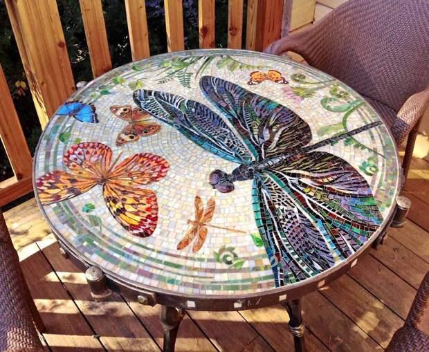 Мозаичный столик 1