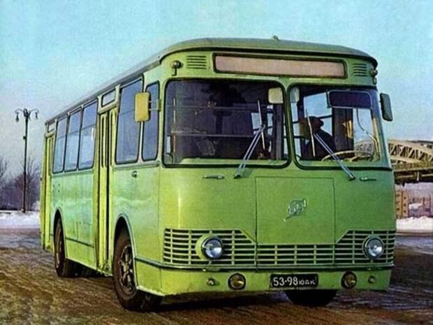ЛиАЗ-677 автобусы, транспорт, это интересно