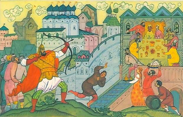 Князь Владимир против богатырей. Интриги и скандалы княжеского двора былинного Киева