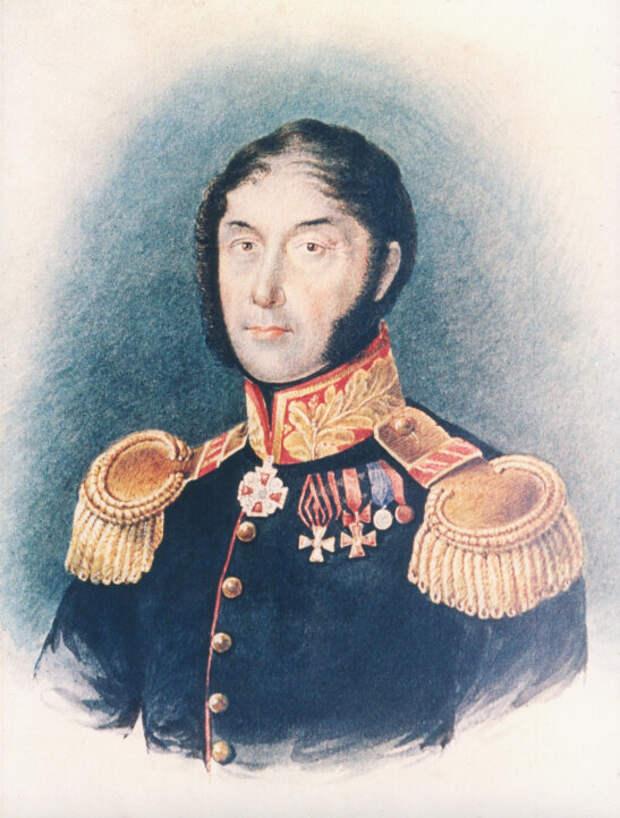 Генерал Пахом Чернов, отец Екатерины и Константина.