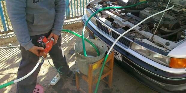 Промывка радиатора печки: как справиться без мастера