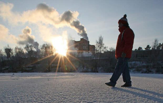 Морозы испытывают россиян на прочность