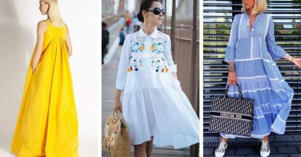 Готовимся к сезону: свободные и женственные платья-парашюты