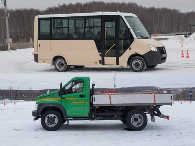 Автобус «Газель Next» и грузовик «Газон Next»: колеса для бизнеса