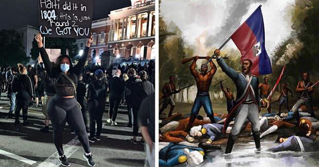 Гаитянская бойня 1804 года: почему еелюбят вспоминать протестующие афроамериканцы