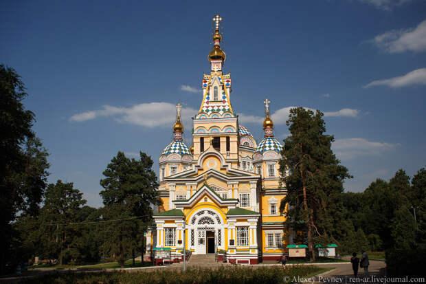 Единственный в своём роде. Вознесенский собор в Алматы. Казахстан.