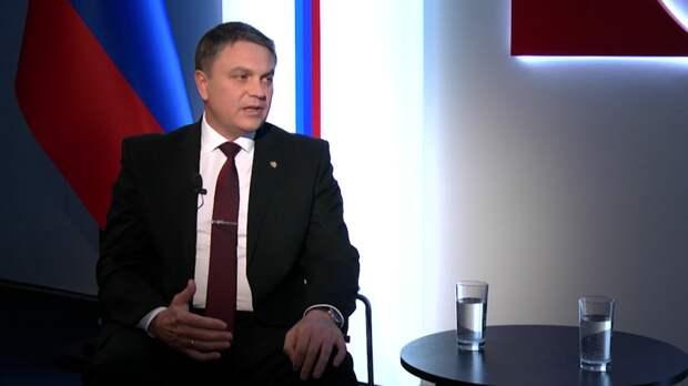 Глава ЛНР обвинил Киев в геноциде и ущемлении прав русскоязычных жителей Украины