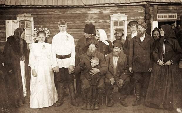 Крестьянская семья из Тамбовской губернии