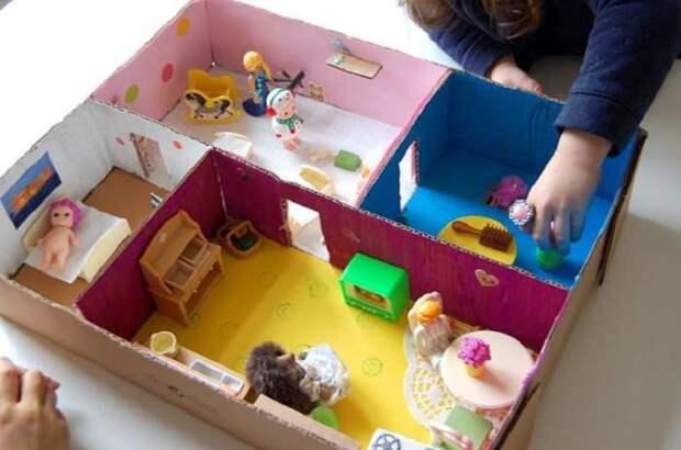 Отменная постройка для детской комнаты. /Фото: madreshoy.com