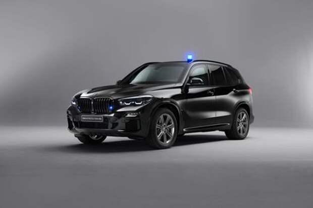 Для России и Африки: новый бронированный BMW X5