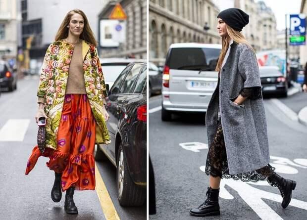 Какой должна быть длина юбки с пальто: нарушаем правила правильно