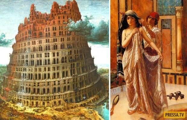 Каждая женщина Вавилона должна была раз в жизни отдаться незнакомцу (9 фото)