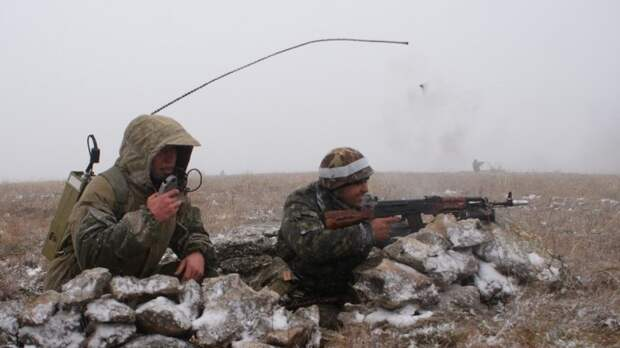 Связисты ВВО провели контртеррористические учения под Хабаровском