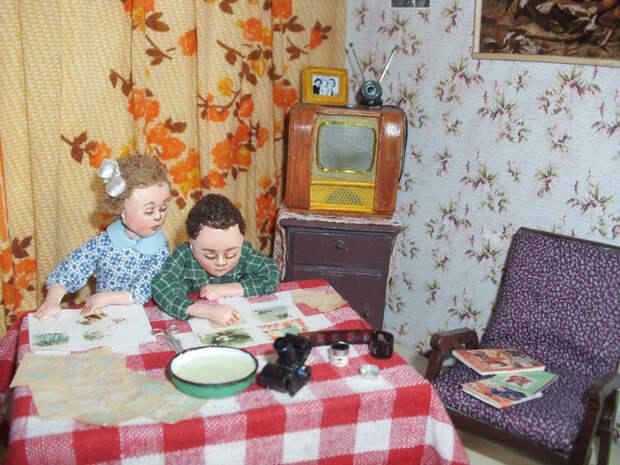 В этих куклах вы узнаете своих бабушек и дедушек